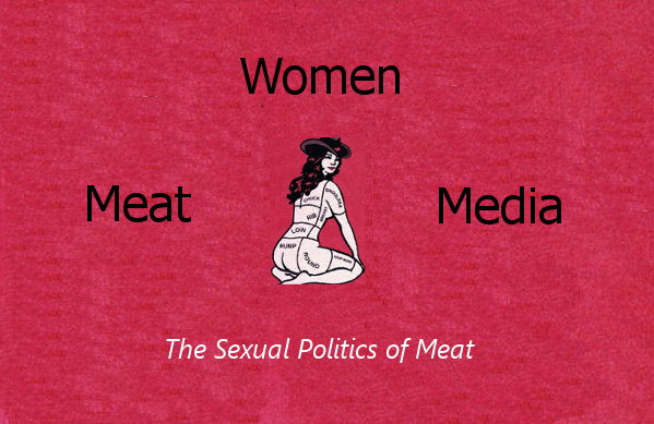 women and meat