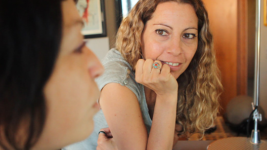 La regista Alessandra Bruno